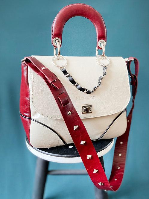 Bolsa Darcyane Matisse vermelha em couro