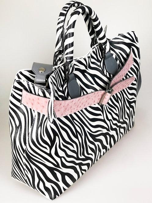 Kida Vegana Selva estampa zebra