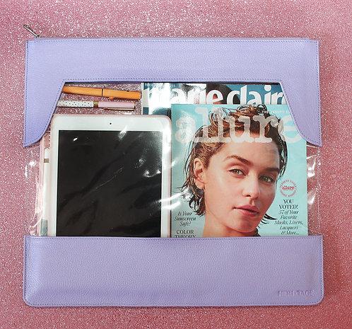Pasta porta notebook e tudo em couro