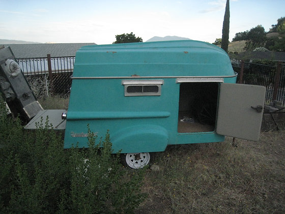 1960's Rare TRAILORBOAT Camper ONE OF 450 SURVIVORS