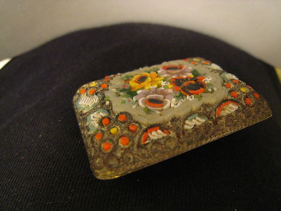 Exquisite Broach / Pin FLOWER MOTIF Made in Italy