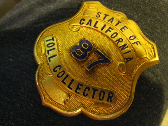 Toll Collector Badge - SAN FRANCISCO - OAKLAND BAY Bridge