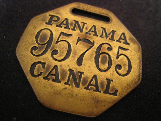 PANAMA CANAL Central America  MEDALLION Fob