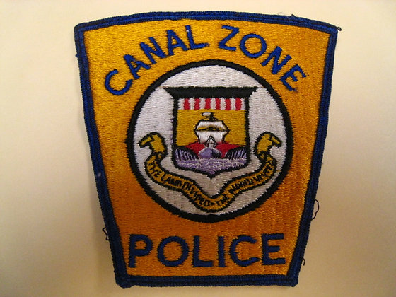 Central America PANAMA CANAL ZONE POLICE DEPT