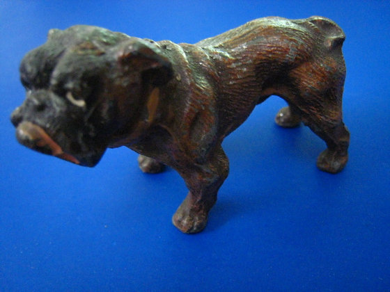 BULLDOG Cast Iron - GERMAN  Figurine Paper Weight