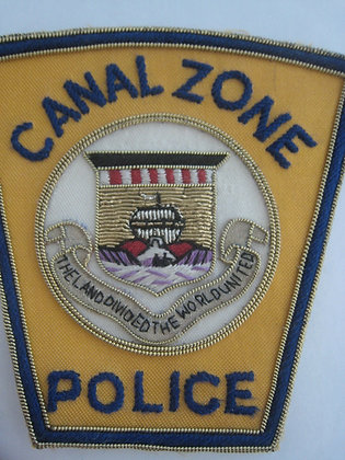 Central America PANAMA CANAL ZONE POLICE DEPARTMENT