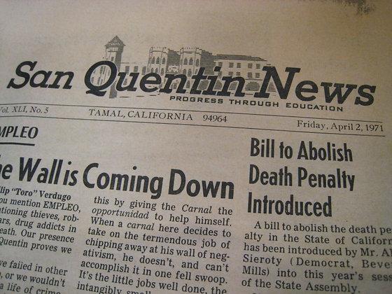 SAN QUENTIN NEWSPAPER