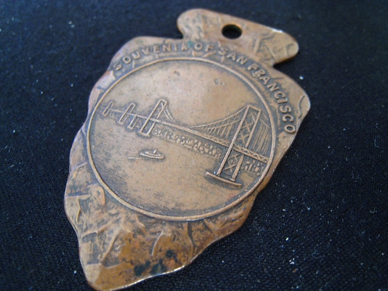 ARROWHEAD KEY / WATCH FOB San Francisco - Oakland BAY BRIDGE