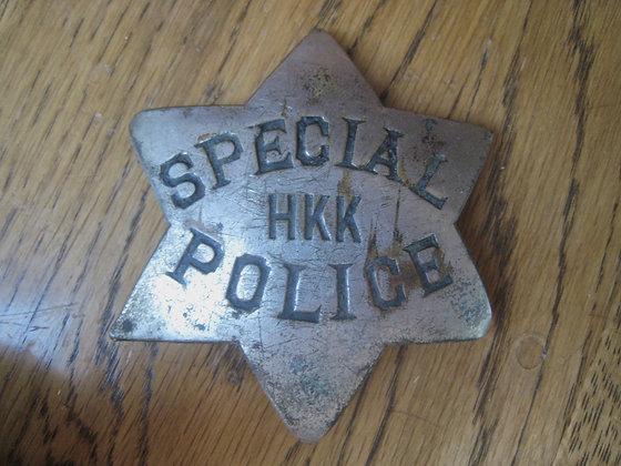 Antique Law Badge SAN FRANCISCO POLICE 1900 - 1906