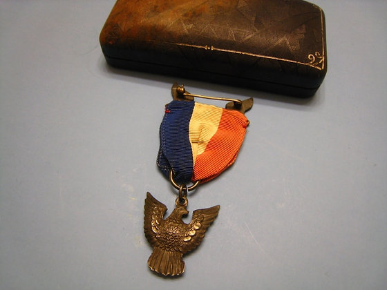STERLING Eagle Scout Badge Award BOY SCOUTS OF AMERICA Silver