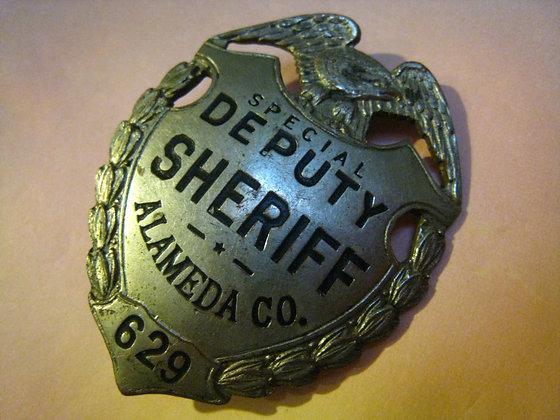 BADGE: DEPUTY SHERIFF ALAMEDA, CALIFORNIA