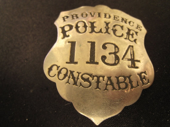 Antique Badge POLICE CONSTABLE Providence Rhode Is