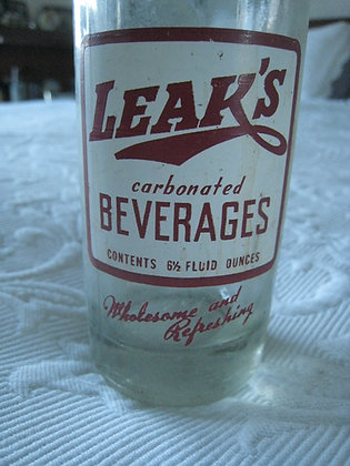 ANTIQUE GLASS Soda BOTTLE CALIFORNIA NORTH COAST