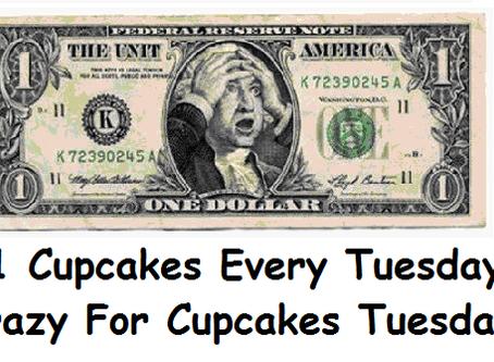 Preparing for $1 Cupcake Tuesday!