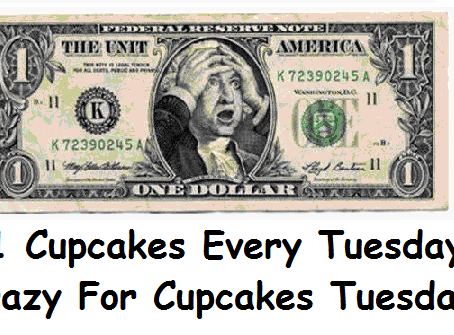 Preparing for $1 Cupcake Tuesday!