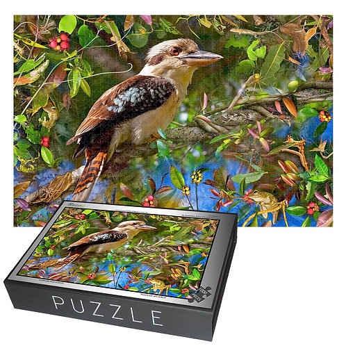 Kookaburra  puzzle