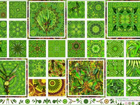 Eucalyptus Dream Fabric Panel
