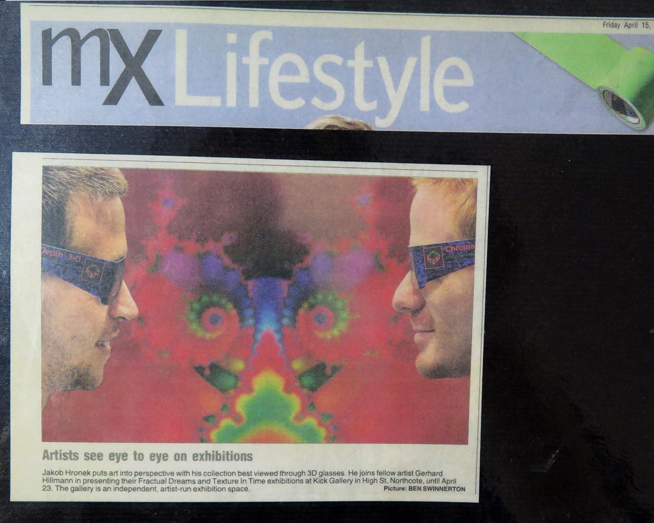 Mx Lifestyle magazine, Melbourne