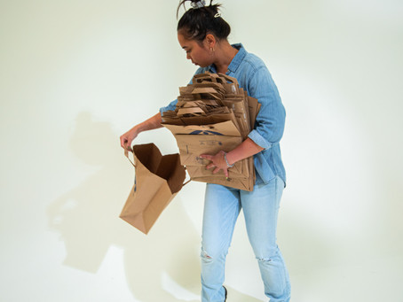 Sustainable Gift Wrapping: How to Reuse Your Paper Grocery Store Bags