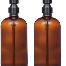 Amber Glass Bottle Dispensers