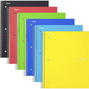 Spiral Graph-Ruled Notebook