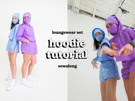 How to Sew a Hoodie in 9 Steps | Loungewear Set Part 1 of 2