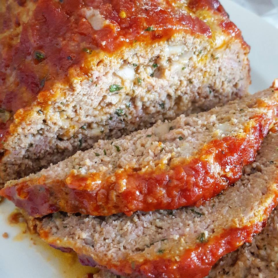 Italian-Style Meatloaf | Low carb | Keto