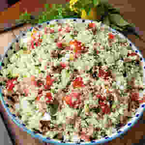 Cauliflower Tabouli (Tabbouleh) Salad