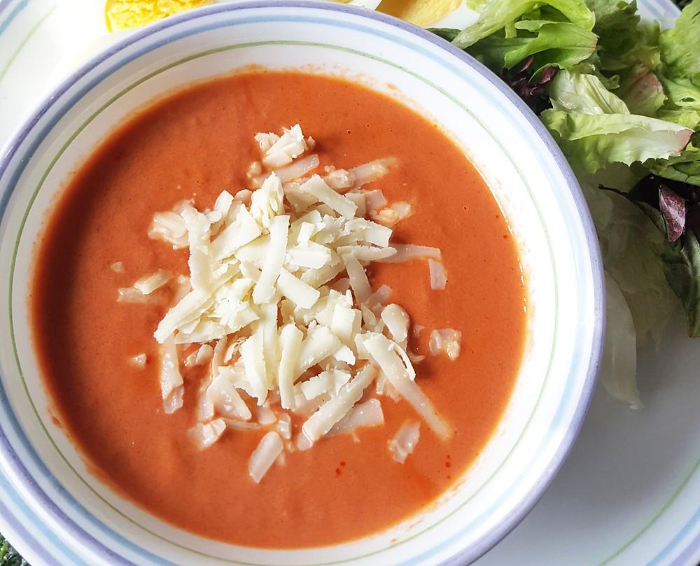 Creamy Tomato Soup | Low Carb | Keto