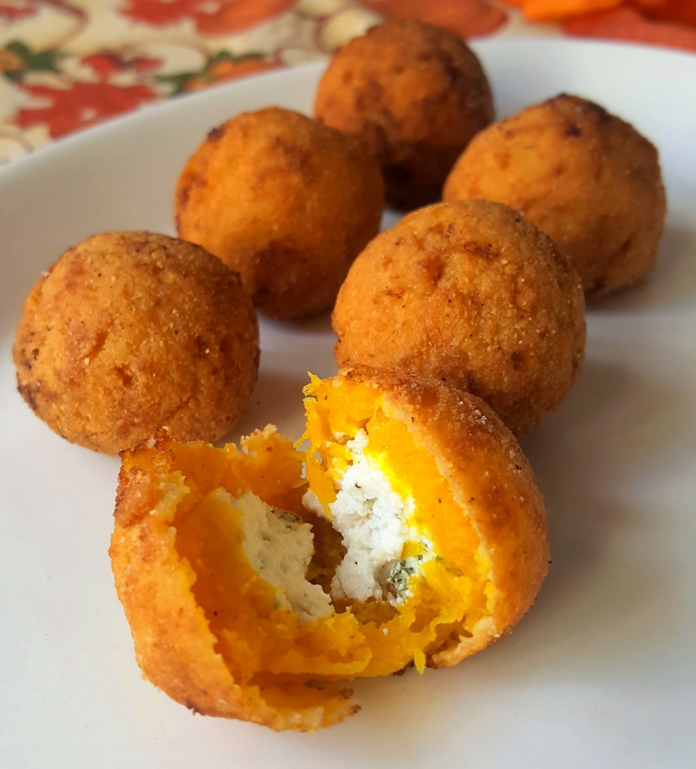 Pumpkin Goat Cheese Croquettes | Low Carb | Keto | Gluten-Free