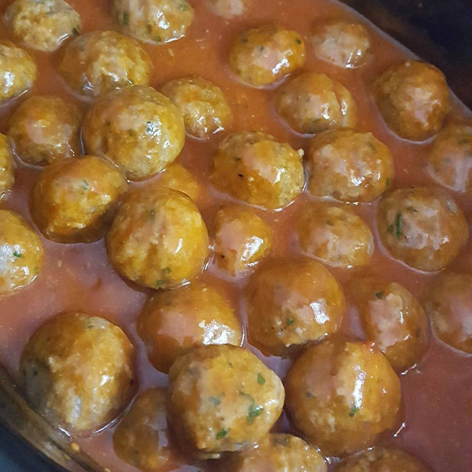 Hot Wing Meatballs