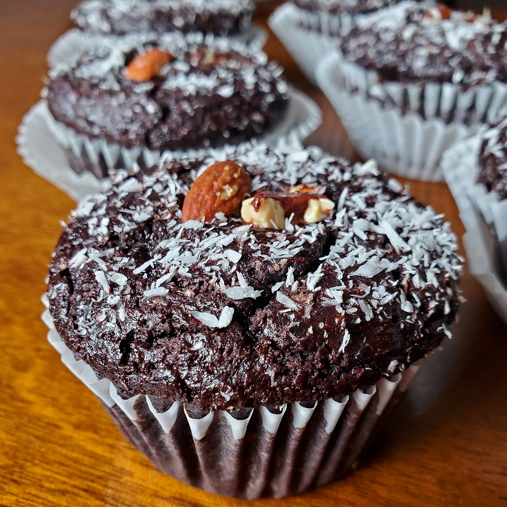Almond Joy Sunflour Muffins | Keto | Low Carb | Gluten-Free