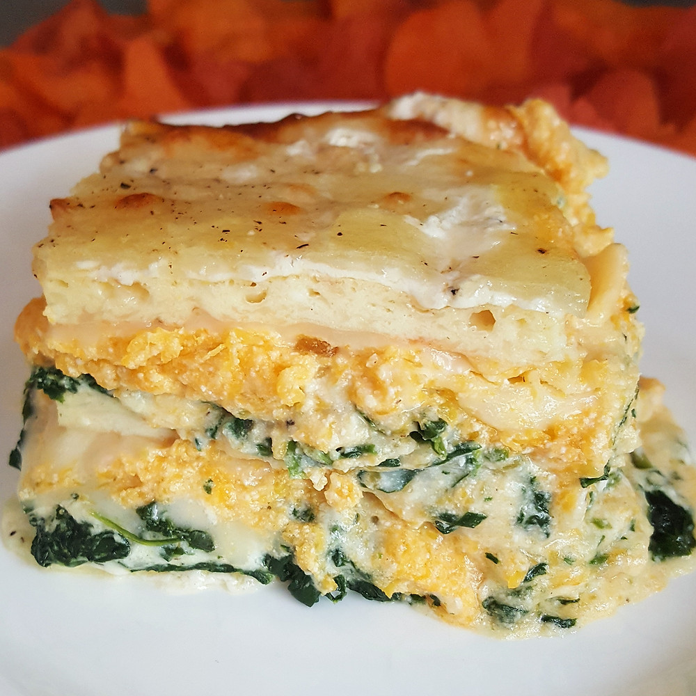 Butternut Squash and Spinach Lasagna | Low Carb | Keto