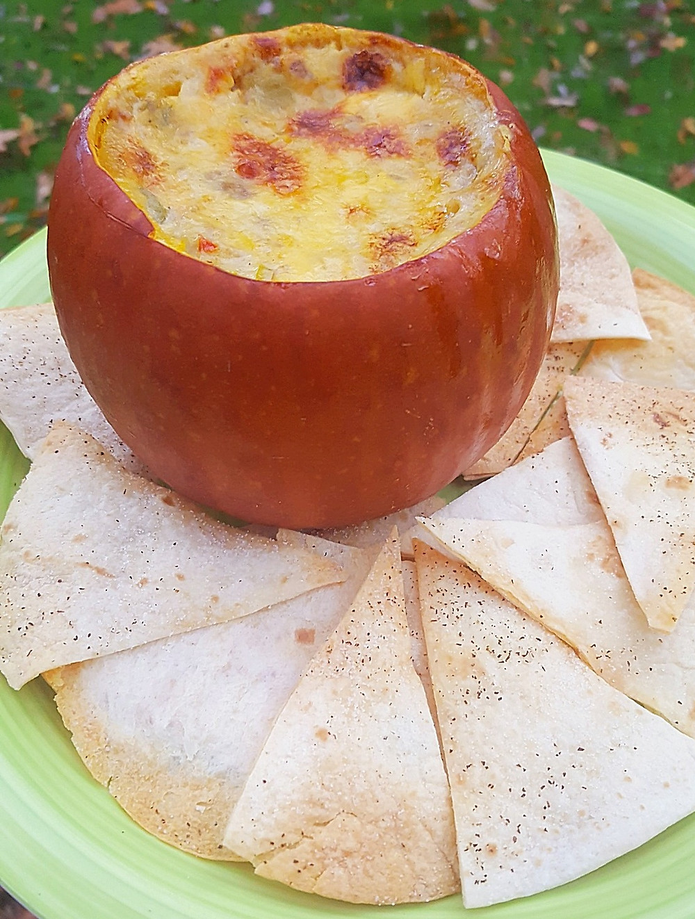Baked Pumpkin Queso Dip | Low Carb | Keto | Gluten-Free