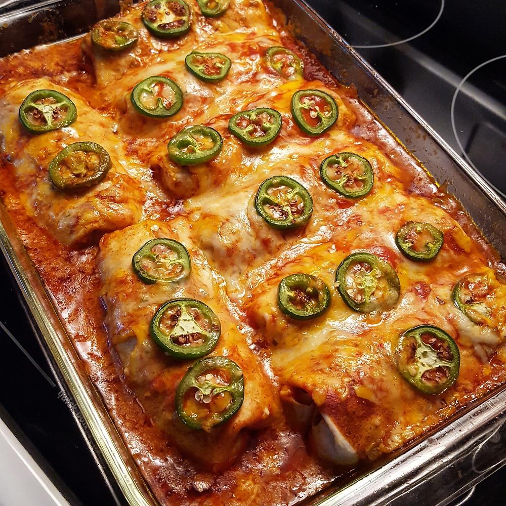 Beef Enchiladas | Low Carb | Gluten Free