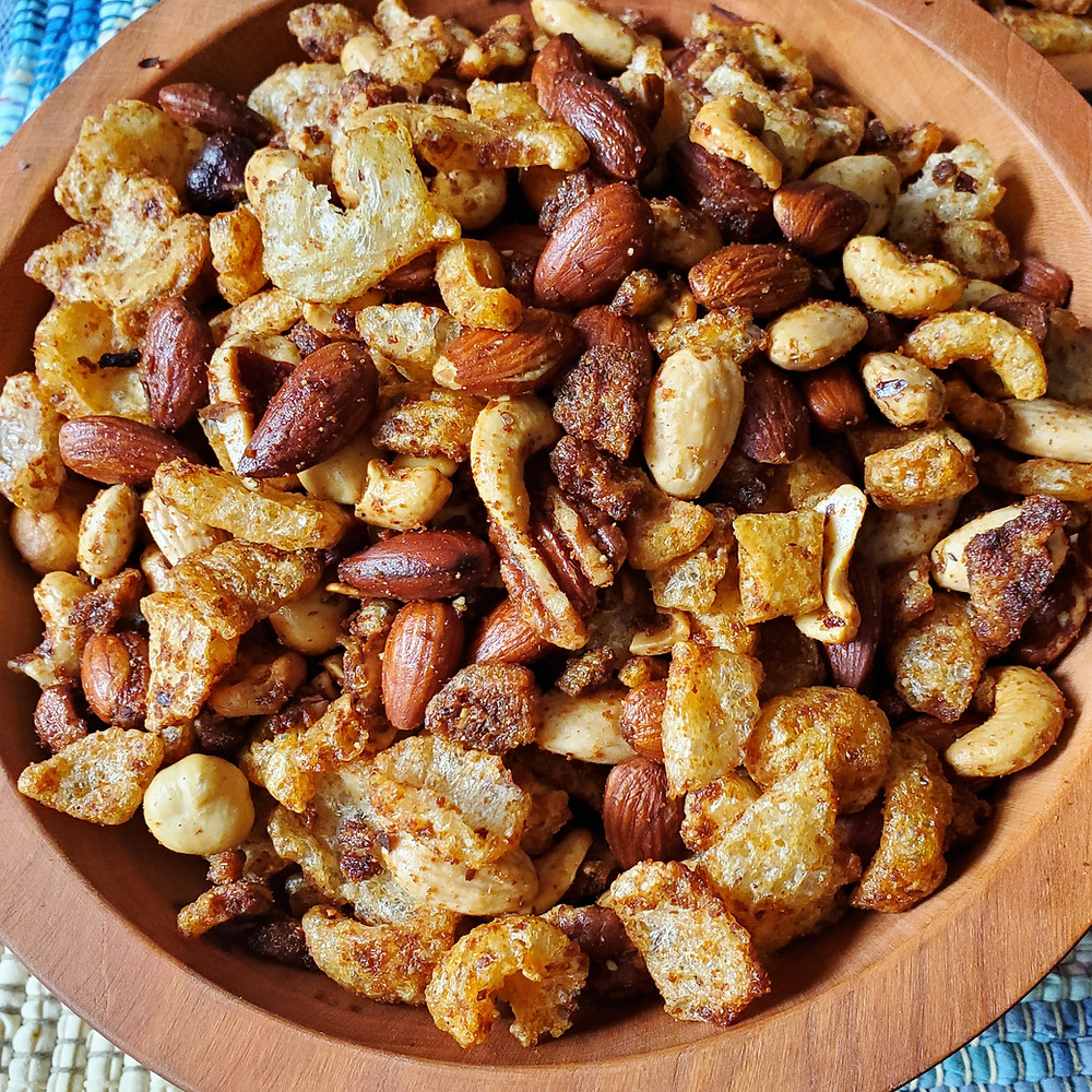 Faux Chex Party Mix | Keto | Low Carb