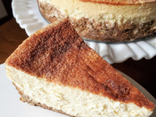 Tall and Creamy Snickerdoodle Cheesecake | Keto | Low Carb