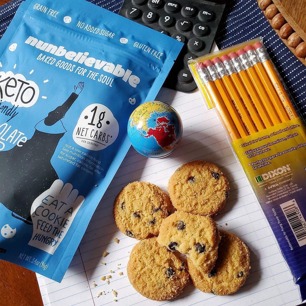 Nunbelievable Keto Chocolate Chip Cookies