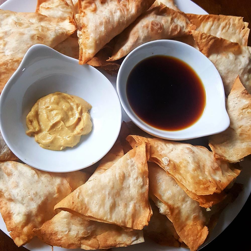 low carb crab rangoon keto rangoon chinese food