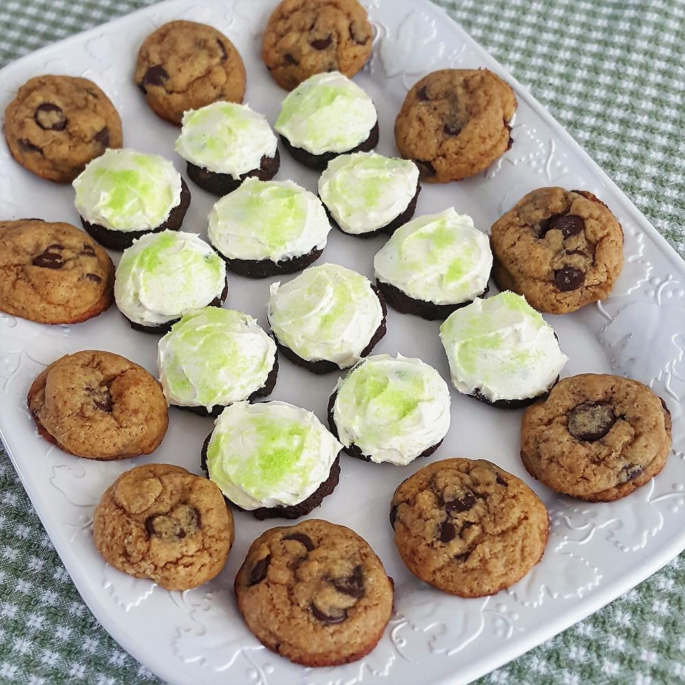 Keto Chocolate Cookie Platter