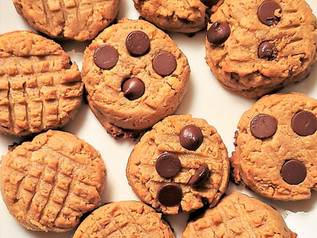 Peanut Butter Cookies with Sunflower Seed Flour (SunFlour) | Keto | Low Carb | Gluten-Free