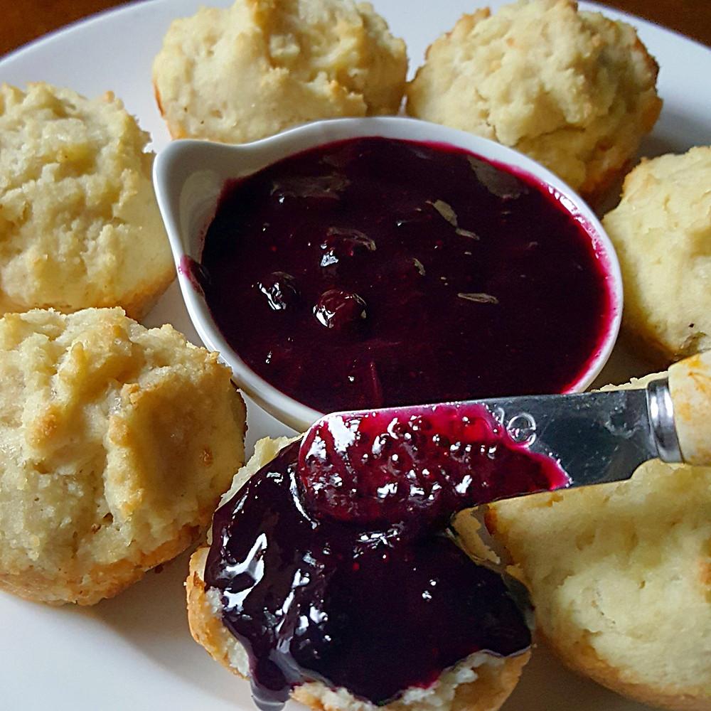 Blueberry Chia Jam |Low Carb | Keto | Sugar-Free