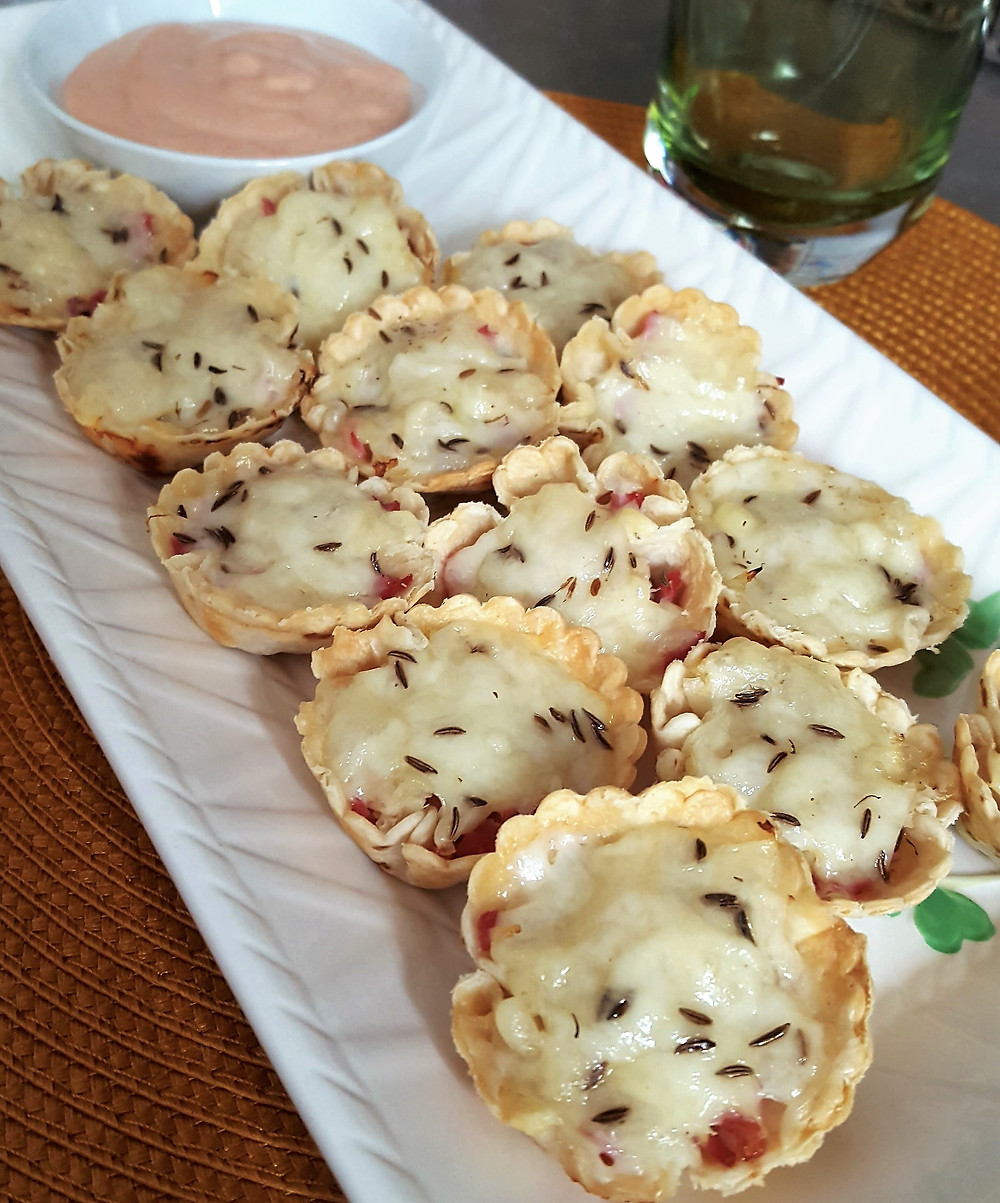 Mini Reuben Cups | Low Carb