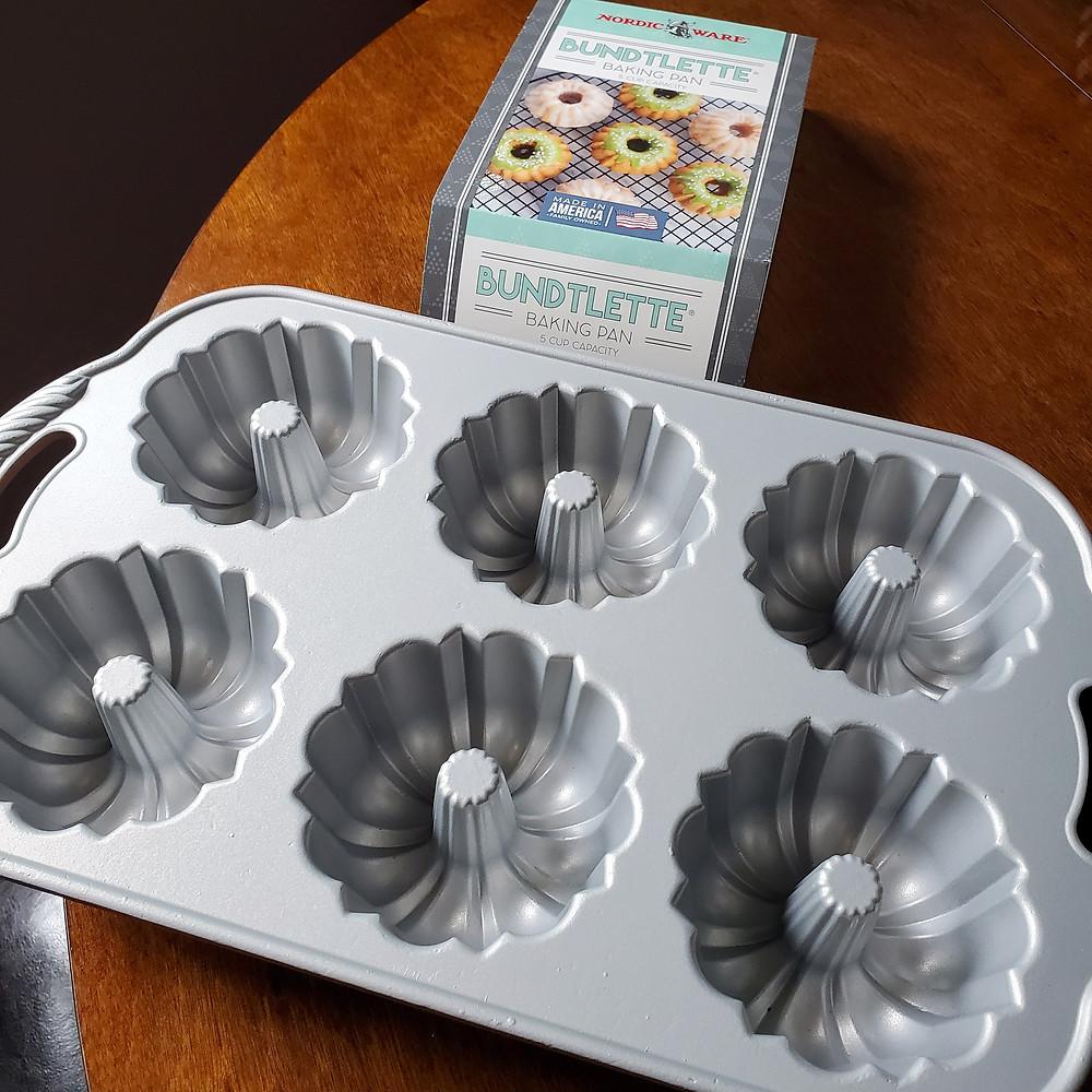 Mini Nut-Free Yellow Cake Bundt Cakes | Keto | Low Carb | Gluten Free