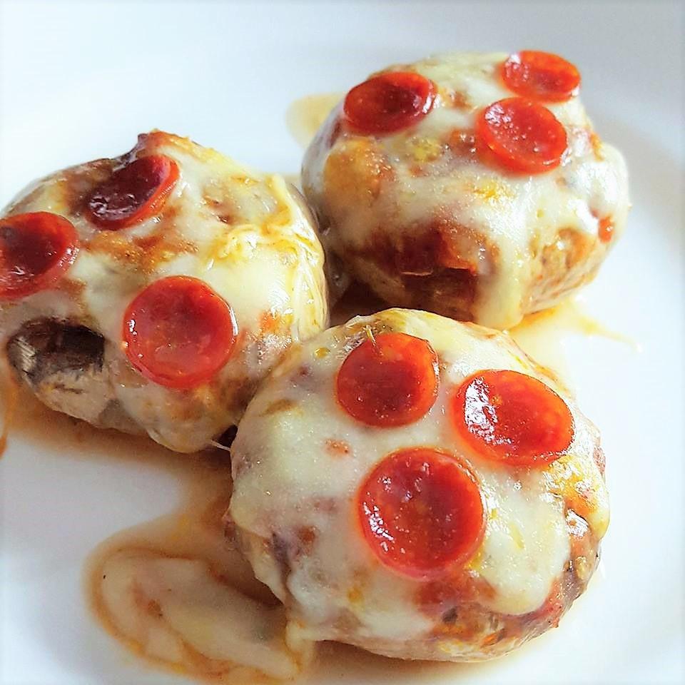 Pizza Stuffed Mushrooms | Low Carb | Keto
