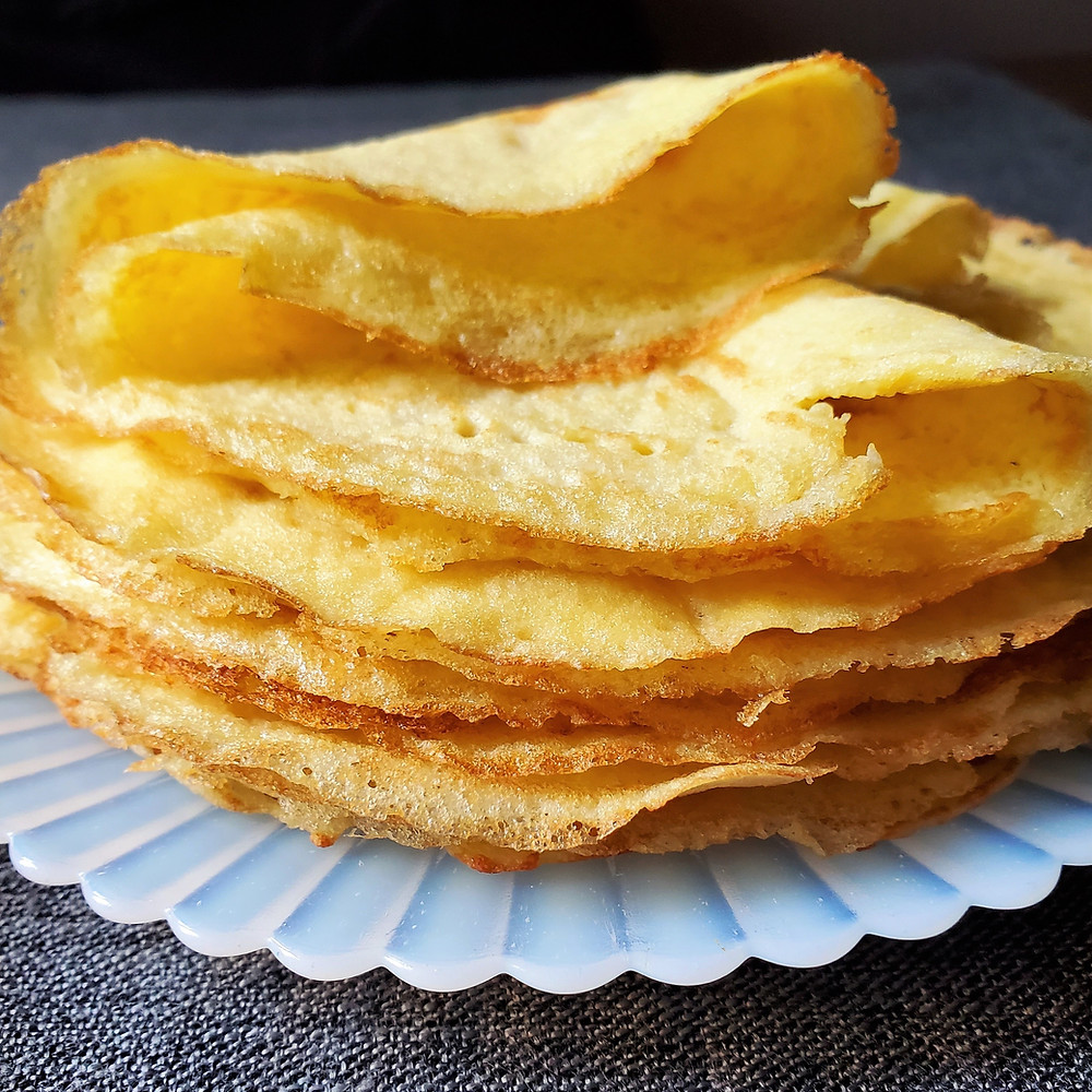 Crepes   Low Carb   Keto   Gluten Free