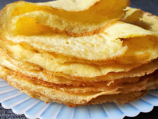 Crepes | Low Carb | Keto | Gluten Free