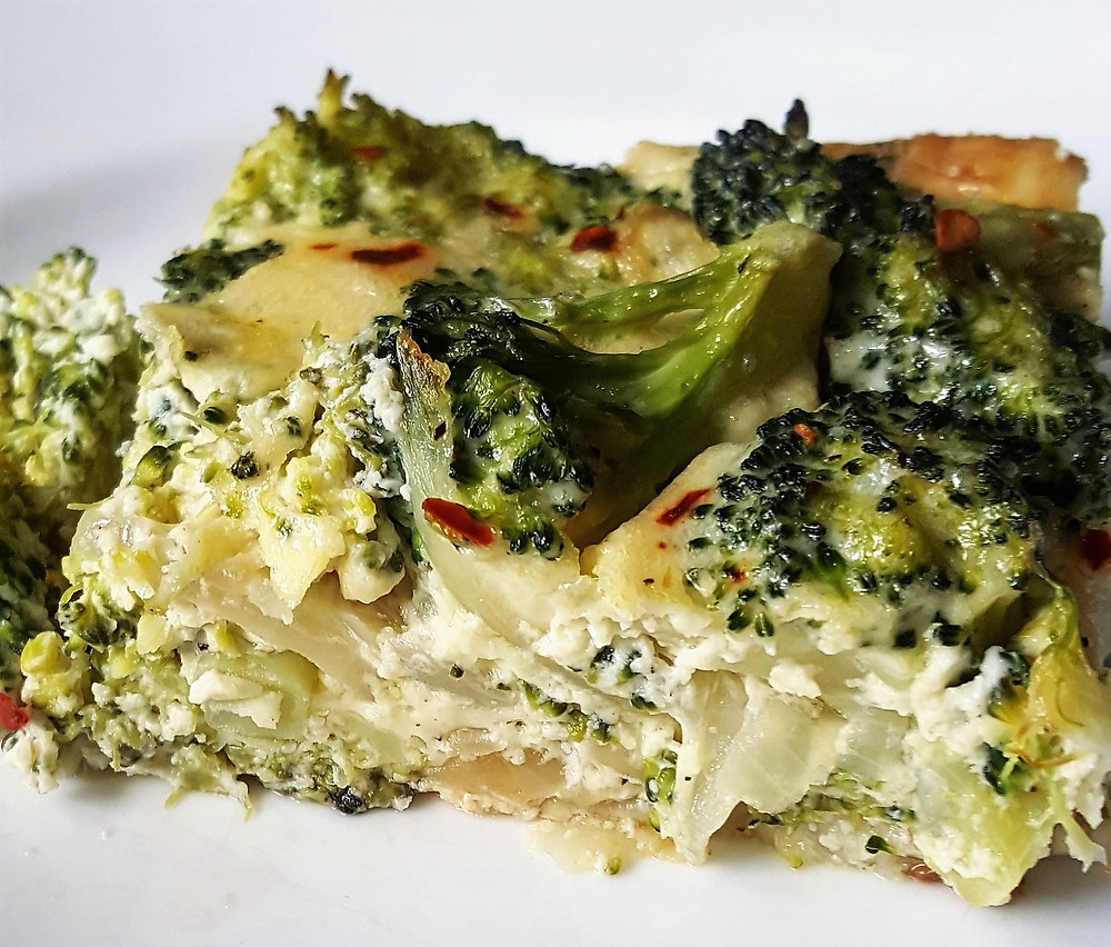 Broccoli & Onion Kugel | Low Carb | Keto