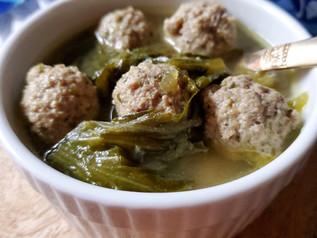 Wedding Soup (Escarole Soup) Low Carb