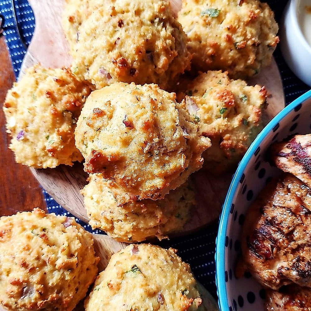Indian Spiced Biscuits   Keto   Low Carb